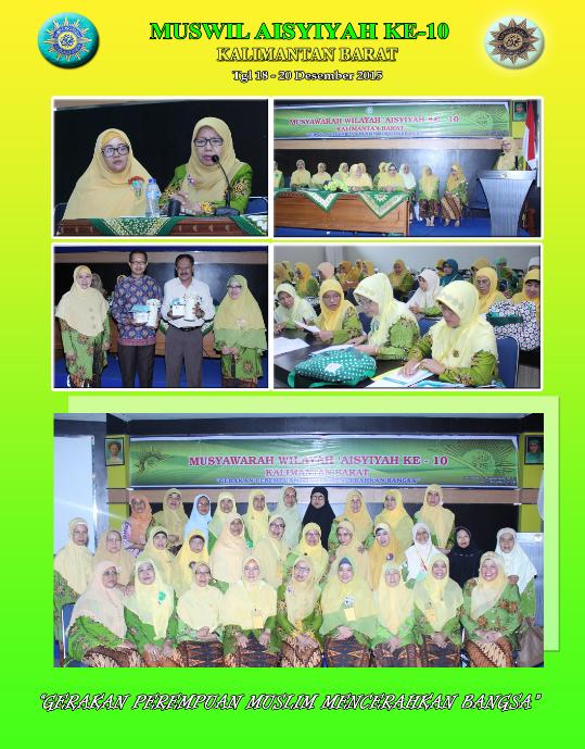 Kegiatan Muswil 'Aisyiyah Kalimantan Barat 2015