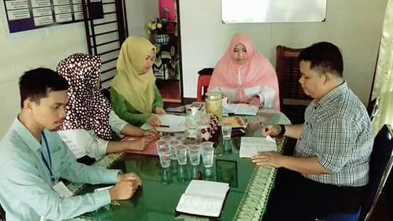Koordinasi dengan KPA Kota Pontianak